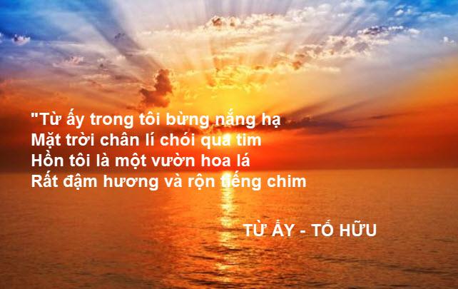 phan tich bai tho tu ay cua tac gia to huu - Phân tích bài thơ Từ ấy của tác giả Tố Hữu